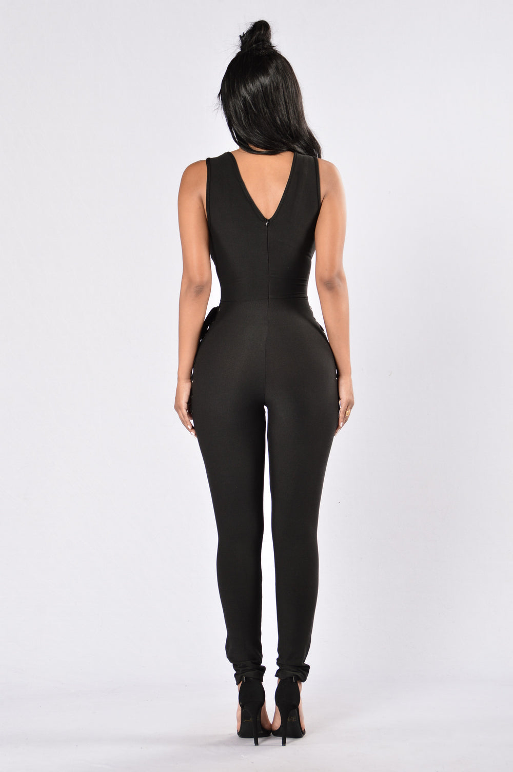 Check My Side Jumpsuit - Black
