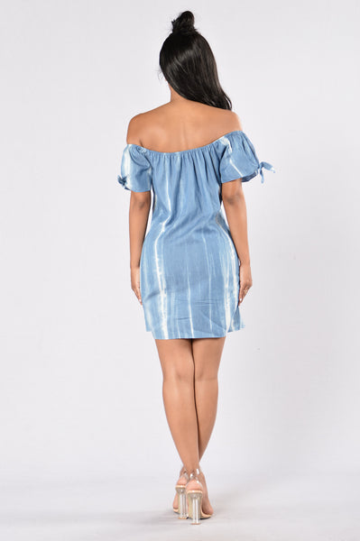 Aquarius Dress - Denim