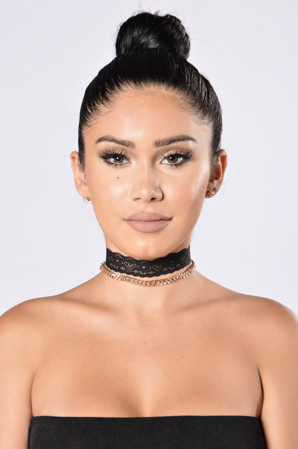 Attitude On Choker - Black