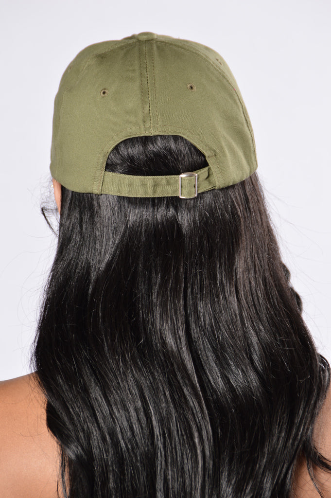 Home Run Cap - Olive