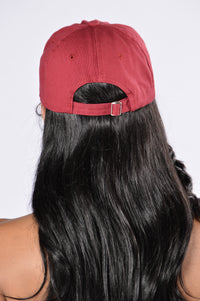 Home Run Cap - Burgundy