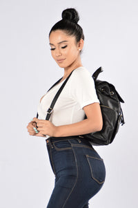 Loving You Everyday Backpack - Black