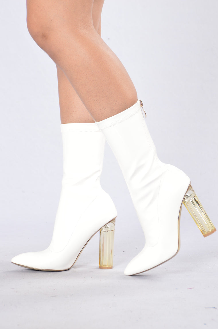 Hot Shot Boot - White