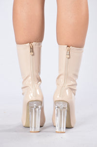 Hot Shot Boot - Nude