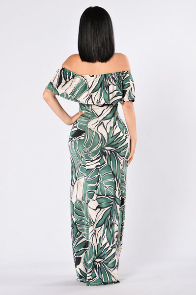 Saint Lucia Dress - Green
