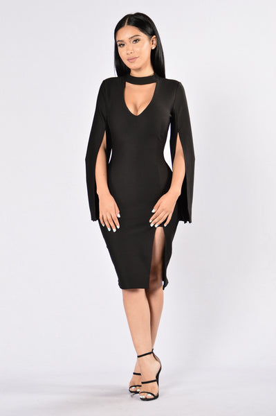 The Valentine Dress - Black