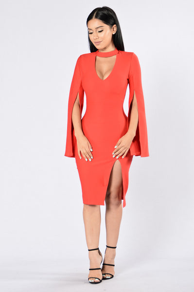 The Valentine Dress - Red