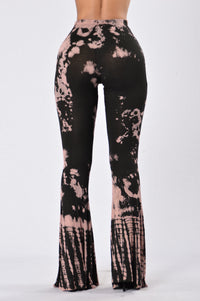 Randy Bell Bottom Pants - Black