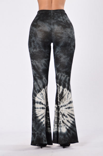 Carrie Bell Bottom Pants - Black