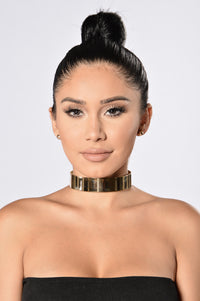Fairfax Choker - Gold