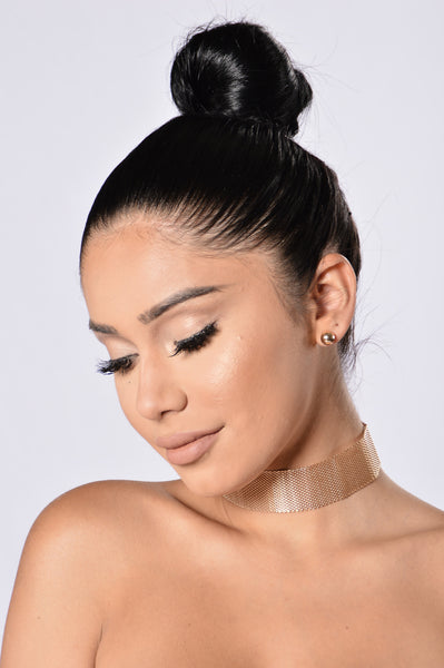 Party All Night Choker - Gold