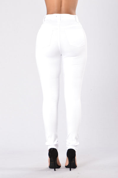 Midnight Assassin Jeans - White