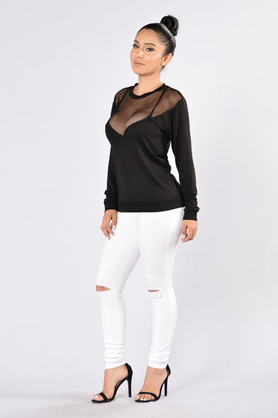 Shark Bait Top - Black