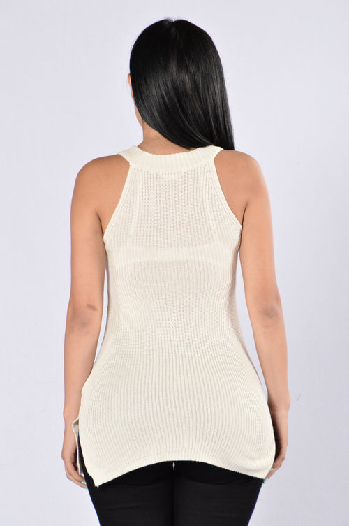 Formally Informal Top - Ivory
