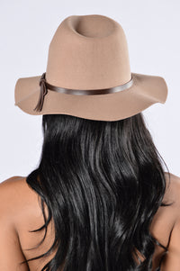 Sunday Brunch Hat - Taupe