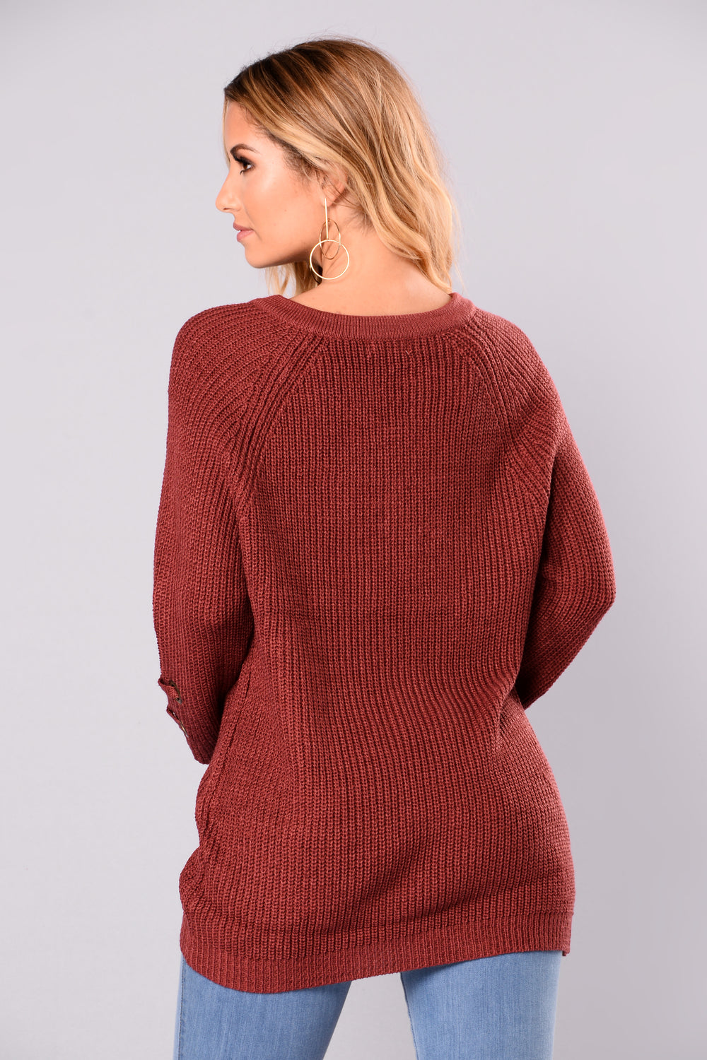 Lake Boat Sweater - Berry