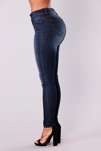 Behamy Ankle Jeans - Dark