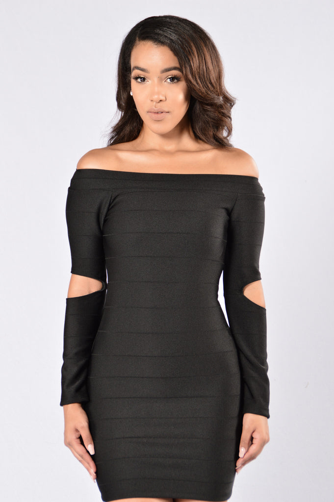 Unexpected Dress - Black