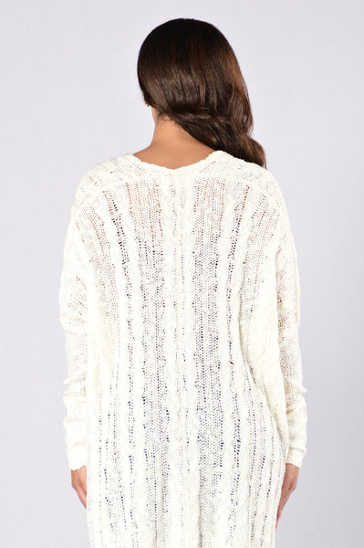 Soft Caramel Sweater - Off White