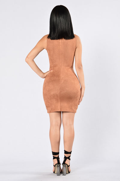 Wildfire Dress - Camel