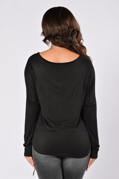 All Day Everyday Top - Black