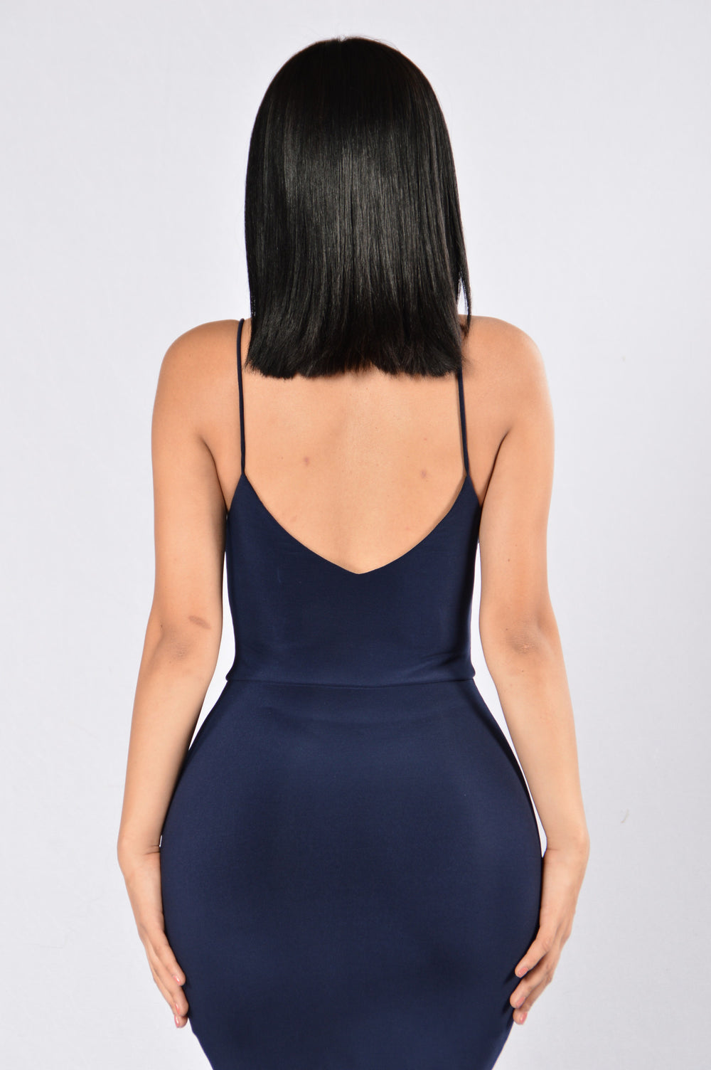 Take Me Out to the Bar Dress - Navy