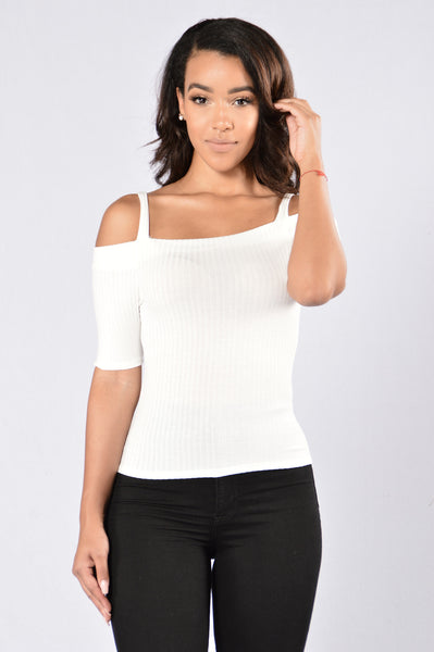 High Wine Top - Ivory