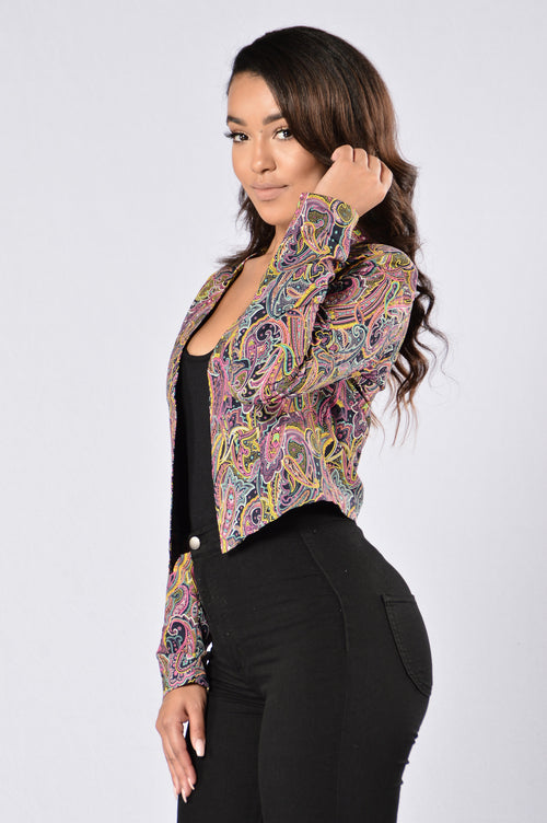 Mixed Emotions Jacket - Multi