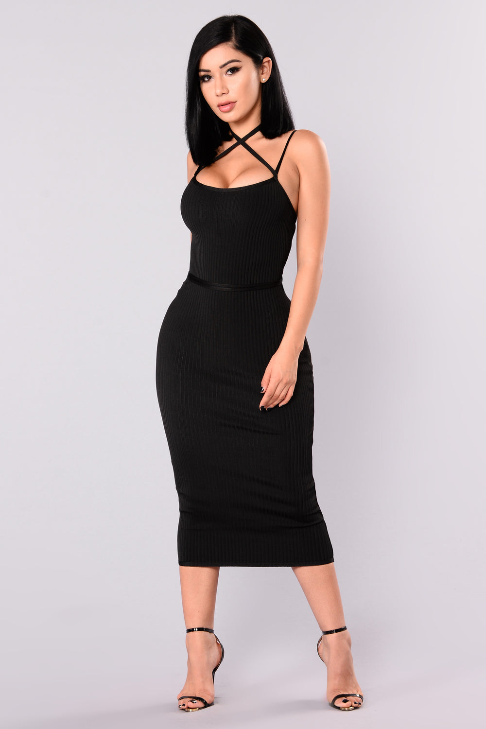 Berlin Bandage Dress - Black