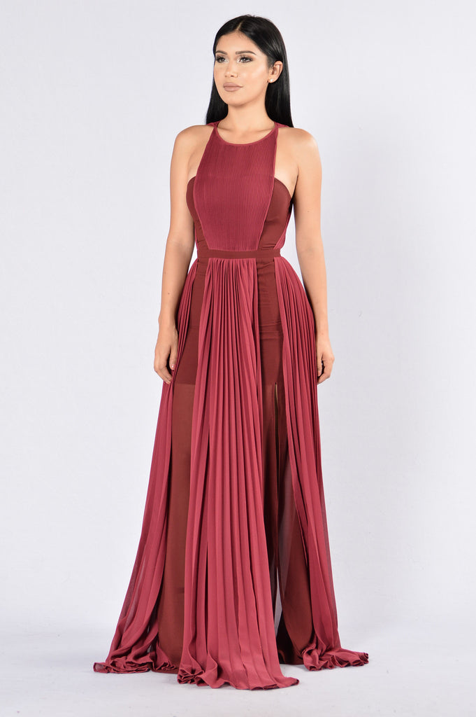 Khaleesi Dress - Wine