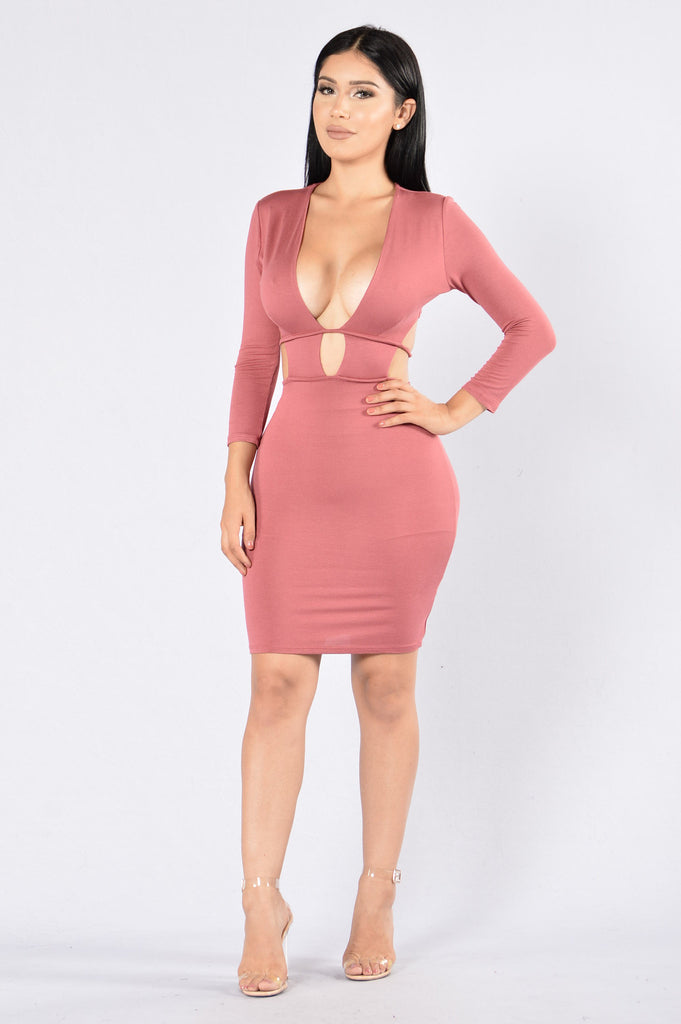 Retention Dress - Rose