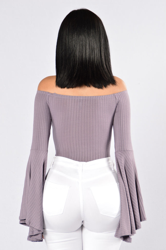 Just Go With It Bodysuit - Lavender