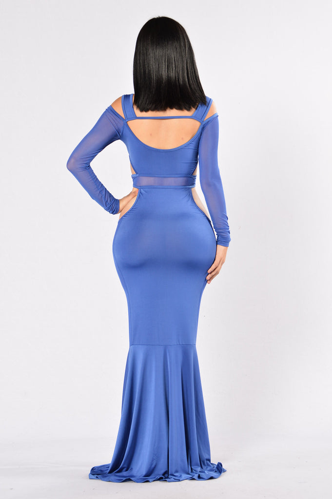 The Blueprint Dress - Blue