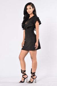 Time Of Our Lives Dress - Black