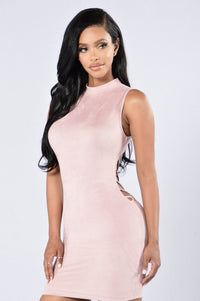 Backlash Dress - Blush