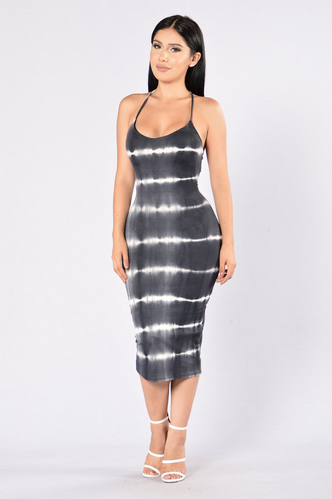 Blast From the Past Dress - Black