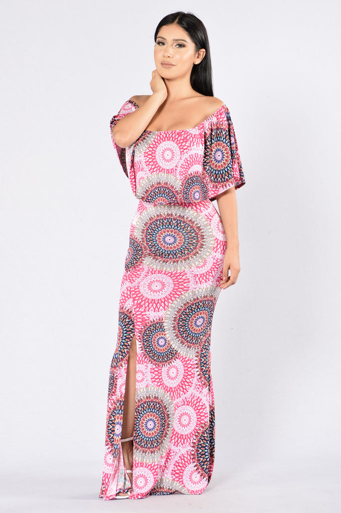 Lucy in the Sky Dress - Pink