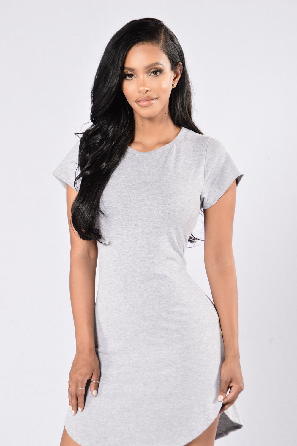 Tori Tunic - Heather Grey