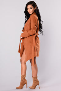 Manhattan City Coat - Camel