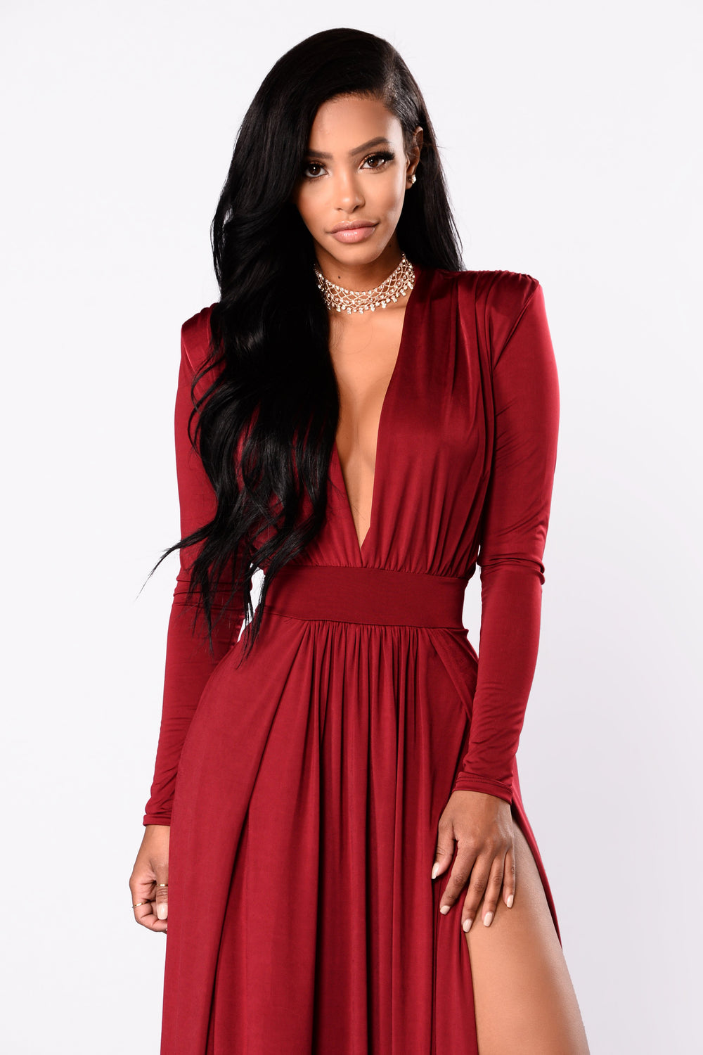 A Line Off Shoulder Half Sleeves Lace Maroon Prom Dresses ...  Maroon Dress
