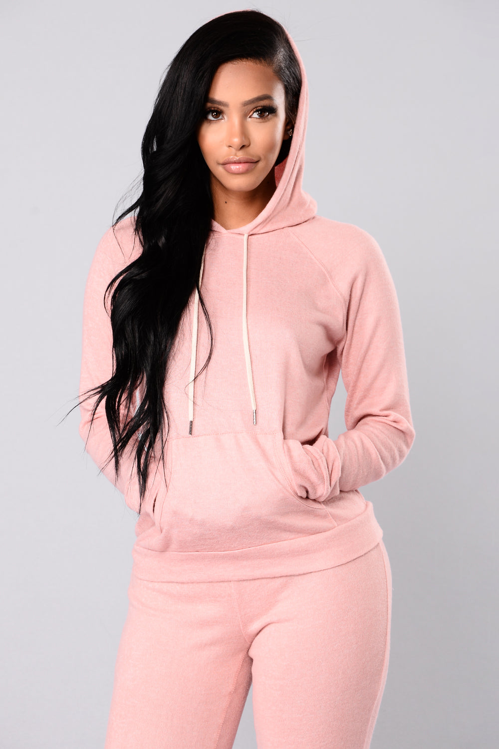 Modern Culture Active Hoodie - Mauve