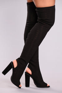 Always Smitten Boot - Black