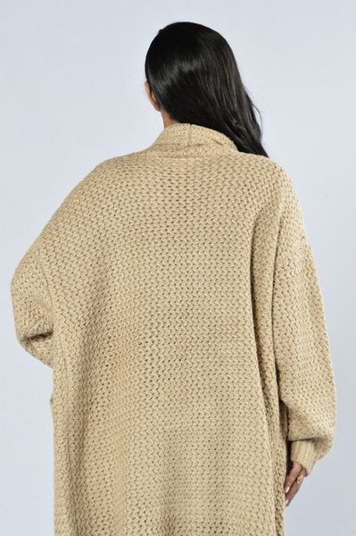 Get Over It Sweater - Taupe