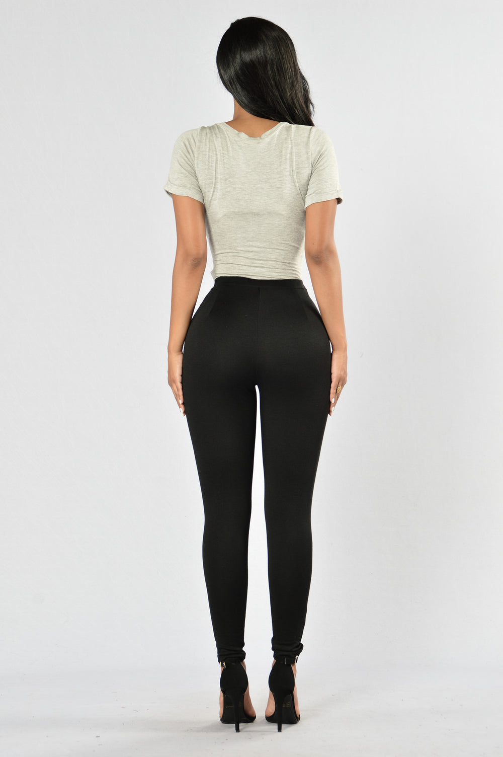 Detail Oriented Leggings - Black
