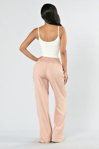 Holiday In The Sun Pants - Mauve Angle 6