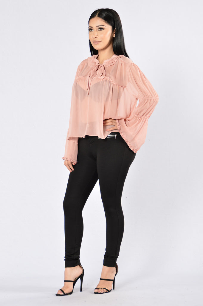 Oldies But Goodies Top - Dusty Rose