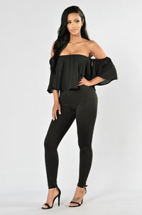 Sweet And Sexy Jumpsuit - Black