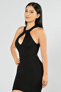 Heat of the Moment Dress - Black