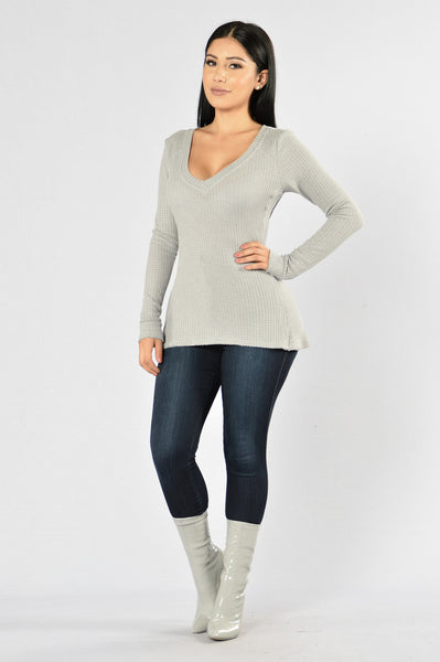 Stonewall Sweater - Grey