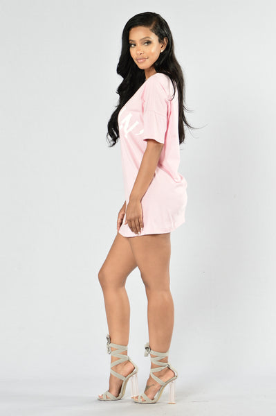 Always Hustlin' Tunic - Pink